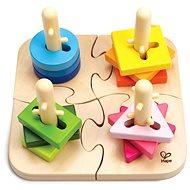 HAPE Kreatívne drevené puzzle