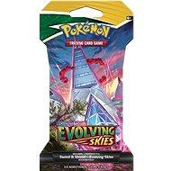 Pokémon TCG: SWSH07 Evolving Skies 1 Blister Booster - Kartová hra