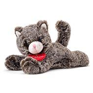 Lumpin Mačička Chicky tmavosivá, 20 cm - Plyšová hračka