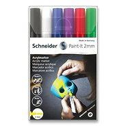 Schneider Paint-It 310 V1 akrylový, 6 ks - Popisovač