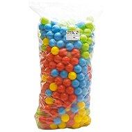 Dolu 500 farebných plastových loptičiek – 9 cm - Loptičky