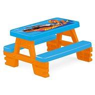 Hot Wheels Piknikový stôl pre 4 - Detský stôl