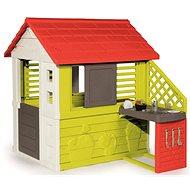 Smoby Nature s kuchyňou - Detský domček