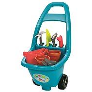 Ecoiffier Záhradný vozík s náradím, kvetináčmi a kanvičkou - Vozík