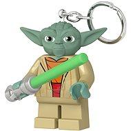 LEGO Star Wars – Yoda so svetelným mečom - Kľúčenka