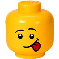 LEGO Úložná hlava Silly – malá - Úložný box
