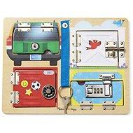 Melissa-Doug Odomykanie zámkov s obrázkami - Didaktická hračka