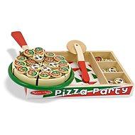 Melissa-Doug Drevená pizza - Kreatívna súprava
