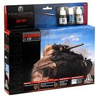Italeri Set World of Tanks 74002 – Sherman - Plastový model