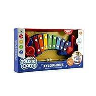 Teddies Xylofón plast/kov - Hudobná hračka
