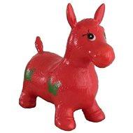 Teddies Hopsadlo skákacie kôň – červený - Detské skákadlo