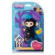 Fingerlings Opička Finn, čierna - Interaktívna hračka