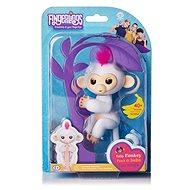 Fingerlings Opička Sophie, biela - Interaktívna hračka