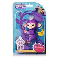 Fingerlings Opička Mia, fialová - Interaktívna hračka