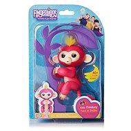 Fingerlings Opička Bella, ružová - Interaktívna hračka