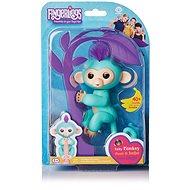 Fingerlings Opička Zoe, tyrkysová - Interaktívna hračka