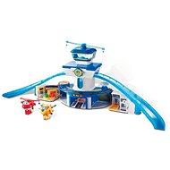 Super Wings – Veľká kontrolná veža, hracia súprava + Jett a Donnie - Herný set