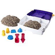 Kinetic sand Cestovný kufrík s formičkami - Kreatívna súprava