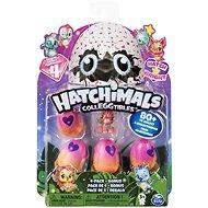 Hatchimals Žiariace zvieratká štvorbalenie s bonusom - Figúrky