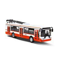 Rappa Kovový Trolejbus červený - Kovový model