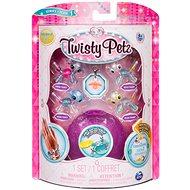 Twisty Petz 4 náramky zvieracích bábätiek – Puppy a Panda - Náramok