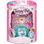 Twisty Petz 4 náramky zvieracích bábätiek – Panda a Kitty - Detský náramok