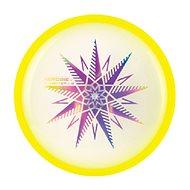 Aierobie Lietajúci disk svietiaci skylighter žltý