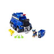 Paw Patrol Veľké policajné vozidlo s efektmi a motorkou - Herná sada