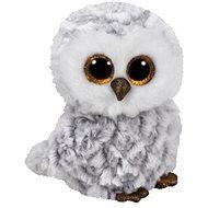 Beanie Boos Owlette – white owl 42 cm - Plyšová hračka