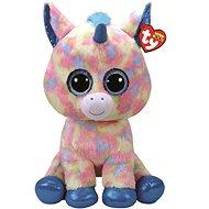 Beanie Boos Blitz – blue unicorn 42 cm - Plyšová hračka