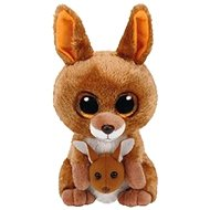 Beanie Boos Kipper – brown kangaroo 24 cm - Plyšová hračka