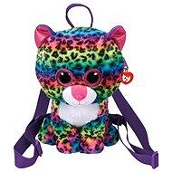 Ty Gear backpack Dotty – multicolor leopard 25 cm - Plyšová hračka