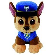Plyšová hračka Beanie Babies Paw Patrol - Chase 24 cm
