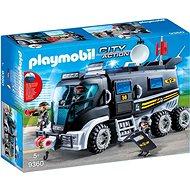 Playmobil Nákladné vozidlo špeciálnej jednotky - Stavebnica