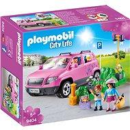 Playmobil Rodinné auto s parkovacím miestom - Stavebnica