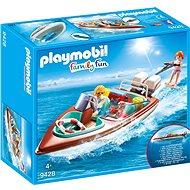 Playmobil Motorový čln s podvodným motorom - Stavebnica