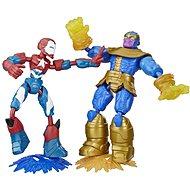 Avengers figúrka Bend and Flex duopack