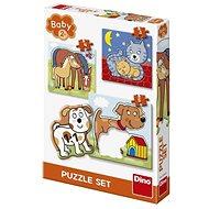 Dino Zvieratká 3 – 5 baby - Puzzle