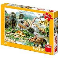 Dino Život Dinosaurov - Puzzle