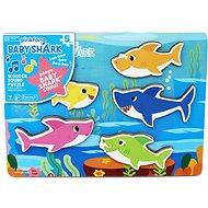 Drevené puzzle Baby Shark - Vkladačka