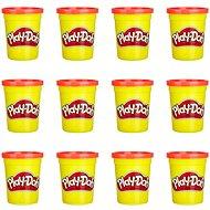 Play-Doh balenie 12 ks téglikov červená
