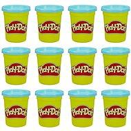 Play-Doh balenie 12 ks téglikov modrá
