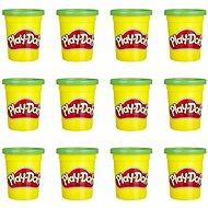 Play-Doh balenie 12 ks téglikov zelená