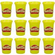 Play-Doh balenie 12 ks téglikov žltá