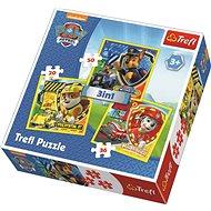 Puzzle 3 v 1 Tlapková patrola - Puzzle