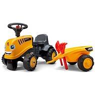 Odrážadlo traktor JCB žlté