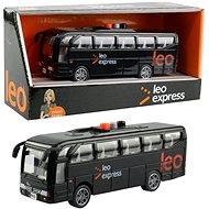 MaDe Autobus Leo express, 5 × 4 × 16 cm - Auto