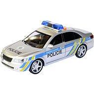Auto MaDe Auto policajné s českým hlasom, na zotrvačník, 24 cm - Auto