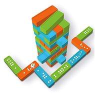 Veža a domino XXL - Hra na záhradu