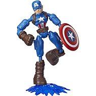 Avengers Bend And Flex Captain America - Figúrka